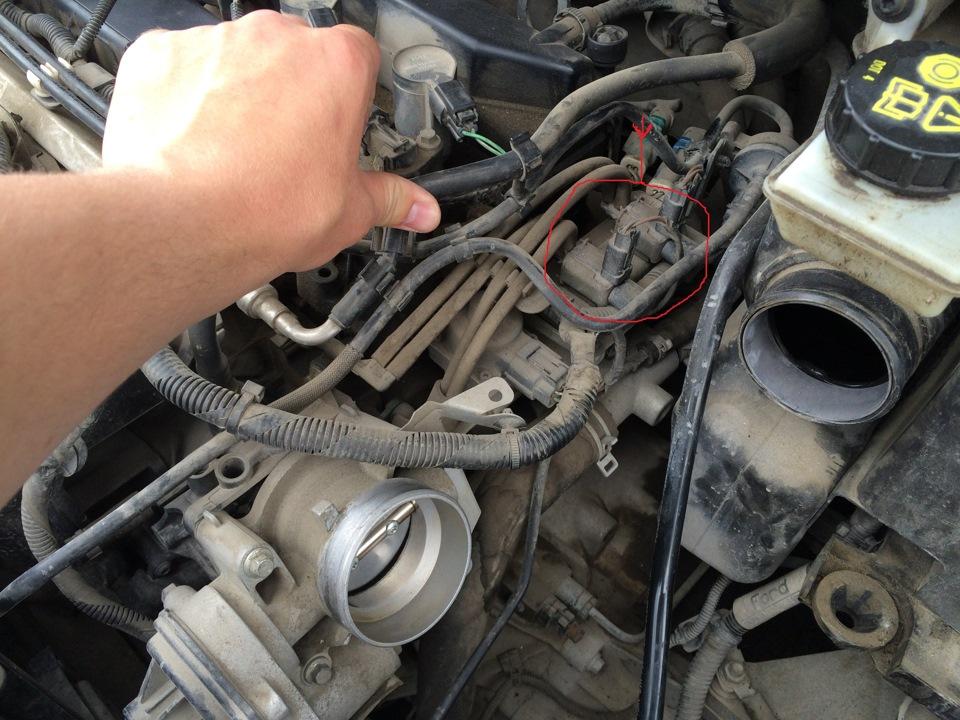 клапан управления заслонками на ford s-max