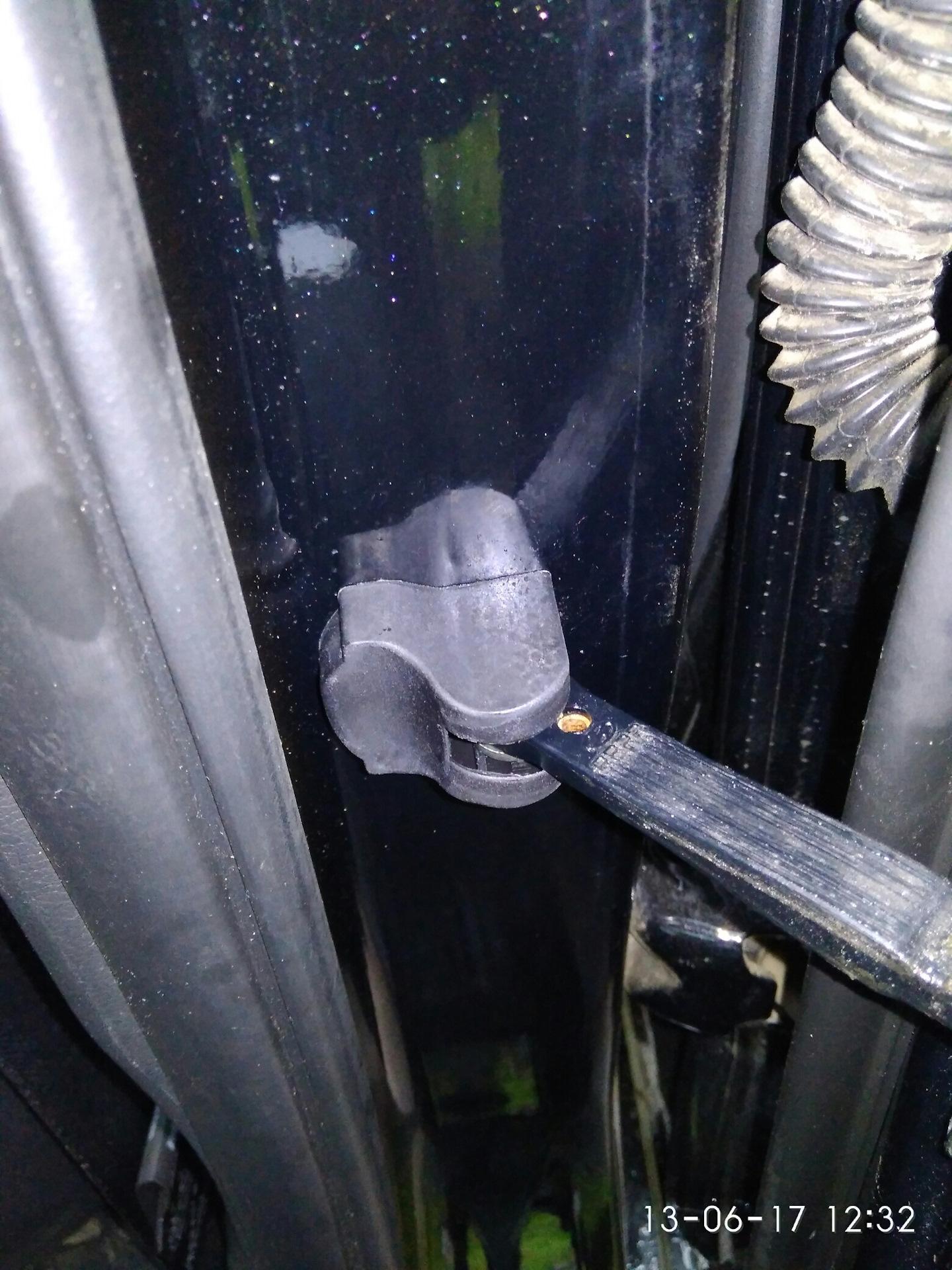 hyundai solaris антенна заглушка
