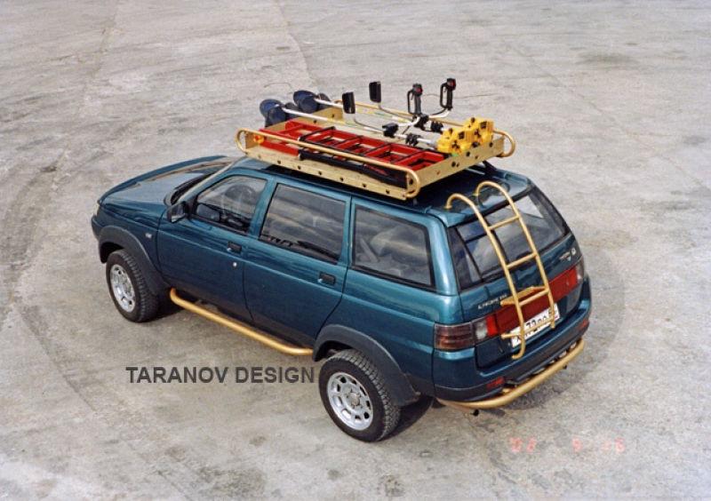 Багажник на крышу автомобиля 2111 своими руками 20