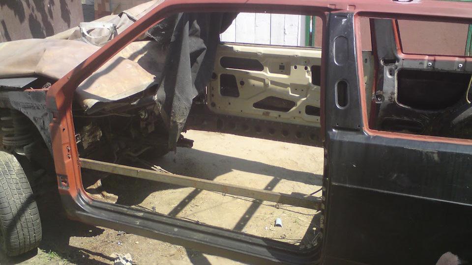 Кузовной ремонт своими руками ваз 2109 видео