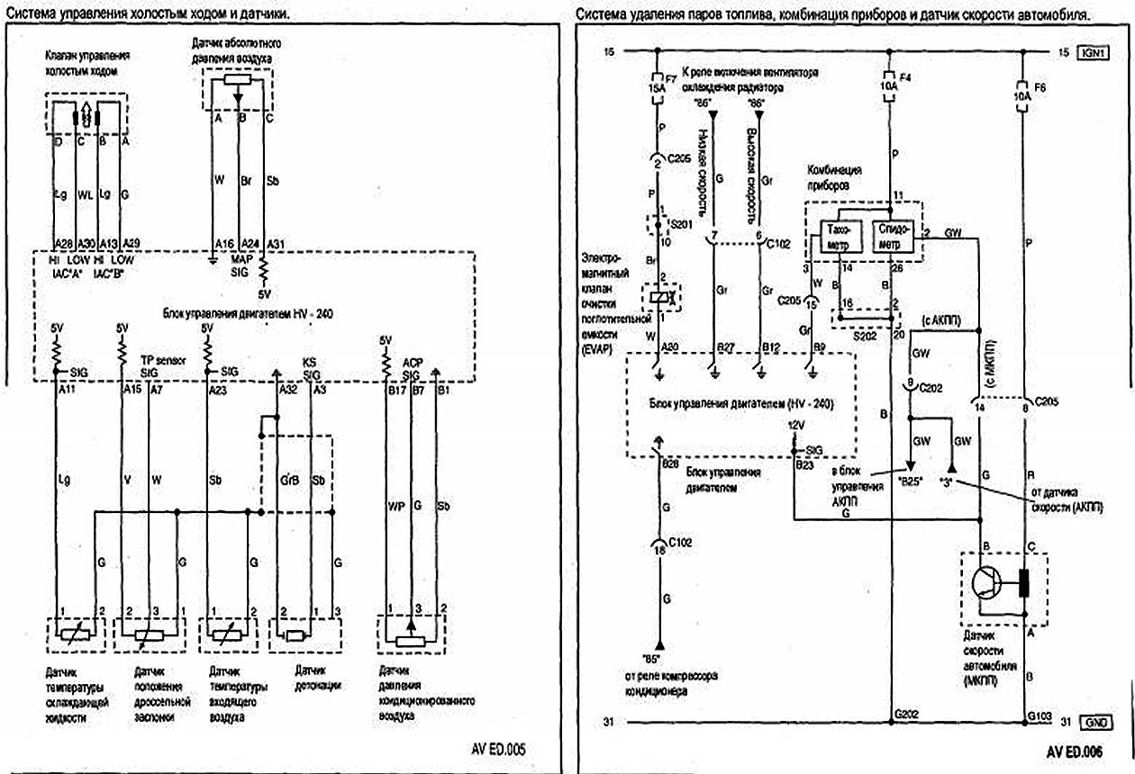 chevrolet aveo 3d схема электрическая