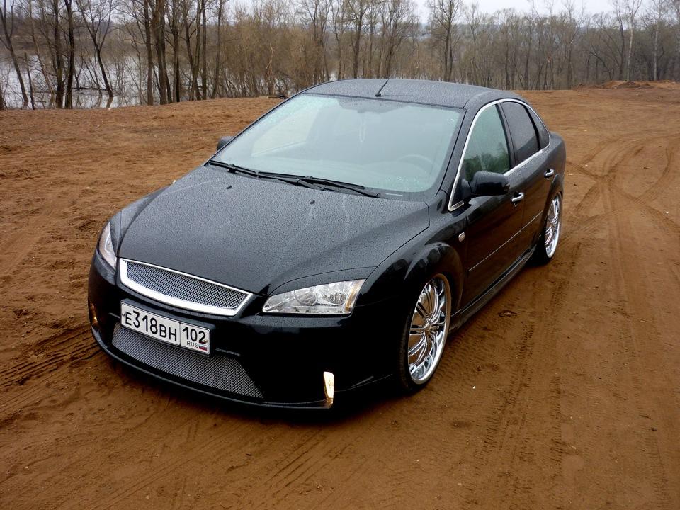 Ещё ниже + поставил туманки - бортжурнал Ford Focus Sedan DUB Style 2007 года на DRIVE2