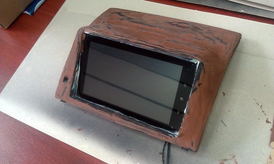 Установка планшета вместо магнитолы своими руками