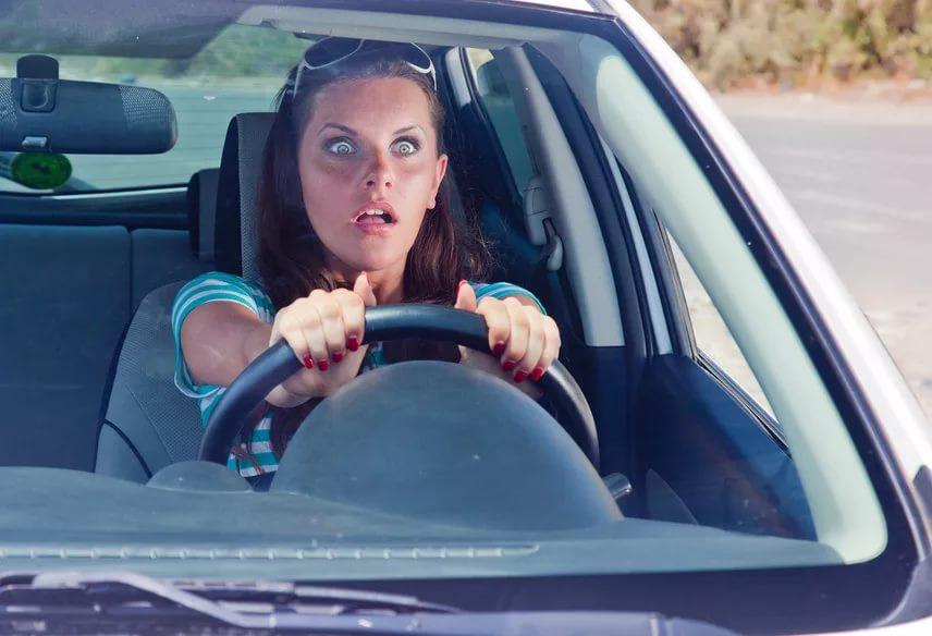 Женщина водитель смешные картинки