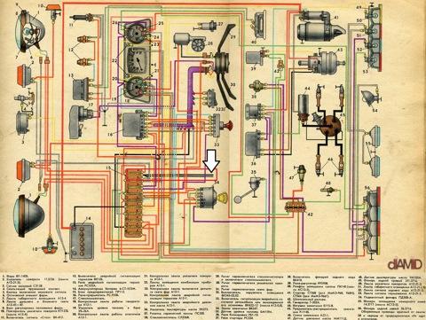 Провода тоже правильно, всё по этой схеме.