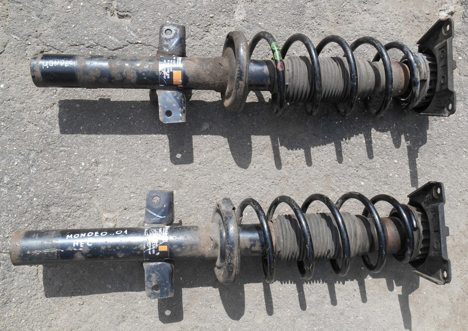 Замена задних амортизаторов на форд мондео