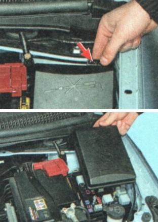 шевроле авео ремонт прикуривателя