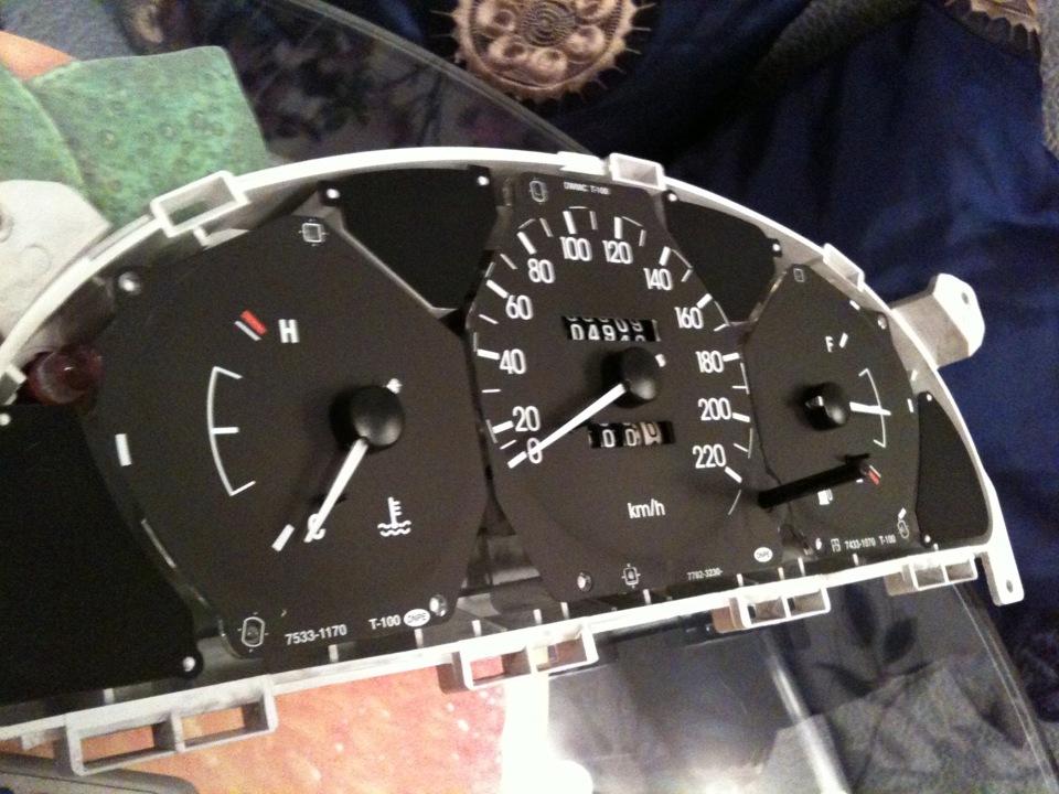 Как сделать оптитронную панель приборов своими руками