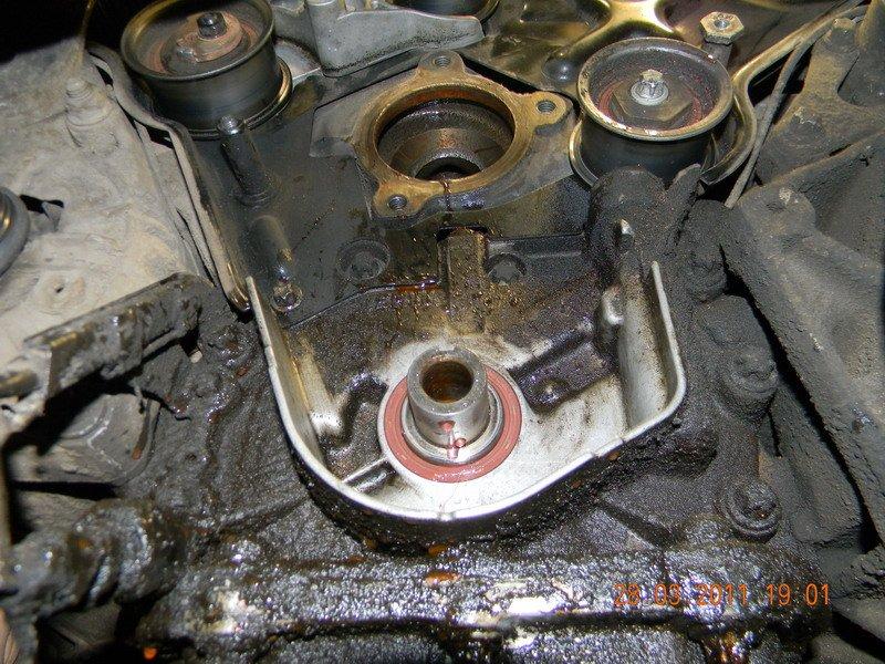 как заменить клапанные сальники opel vectra b