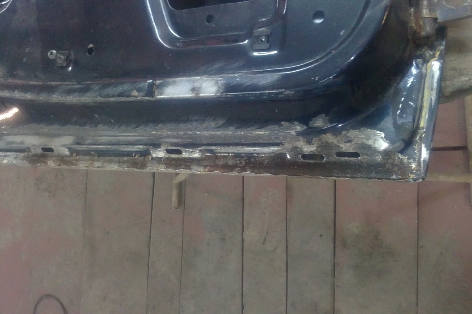 Фото №2 - ремонт дверей ВАЗ 2110