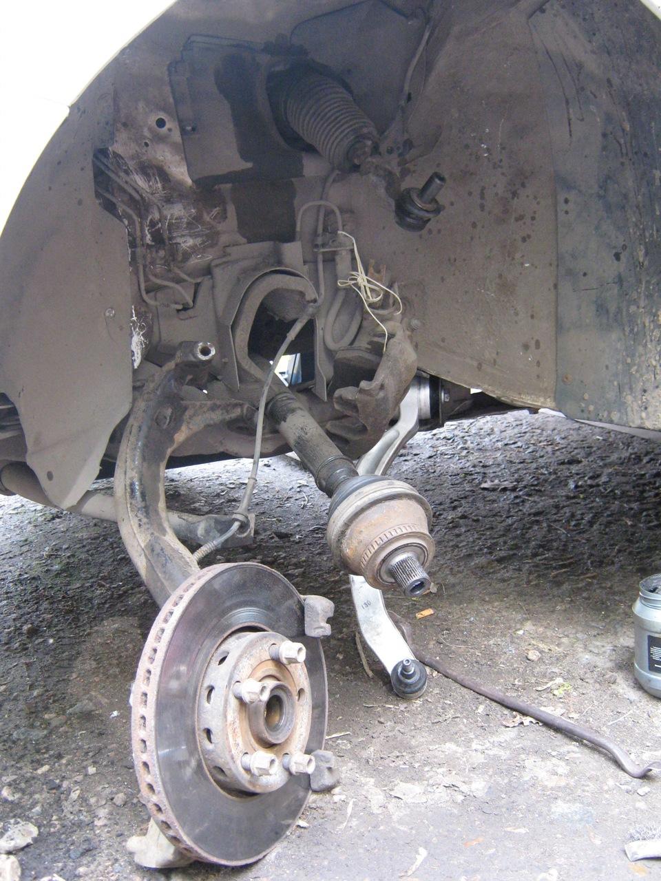 замена рычагов передней подвески фольксваген пассат в5