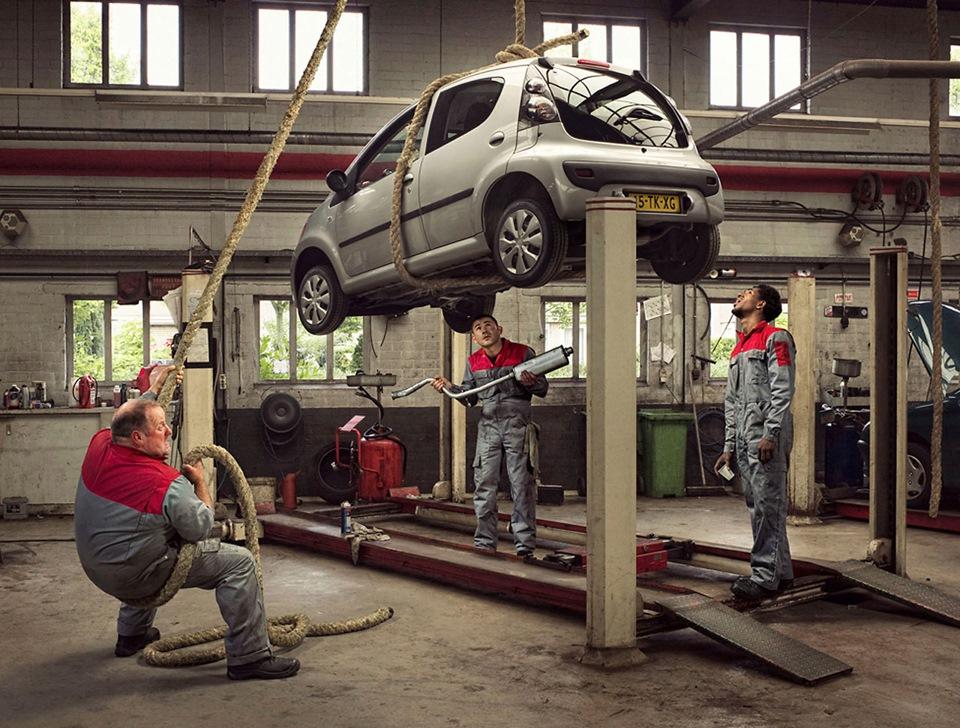 фото на тематику автомеханик друзья, этом видео