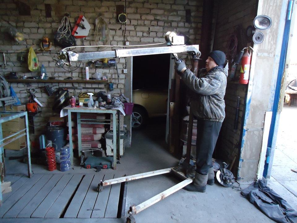 Модернизация гаража своими руками 48