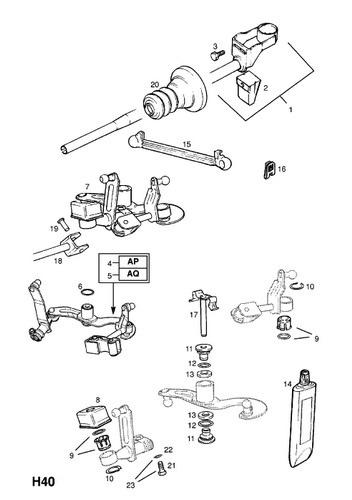 Схема вертолёта