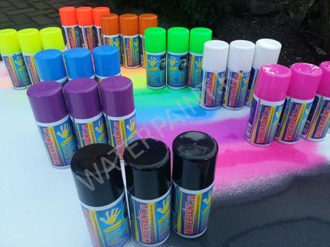Рисовать красками в баллонах