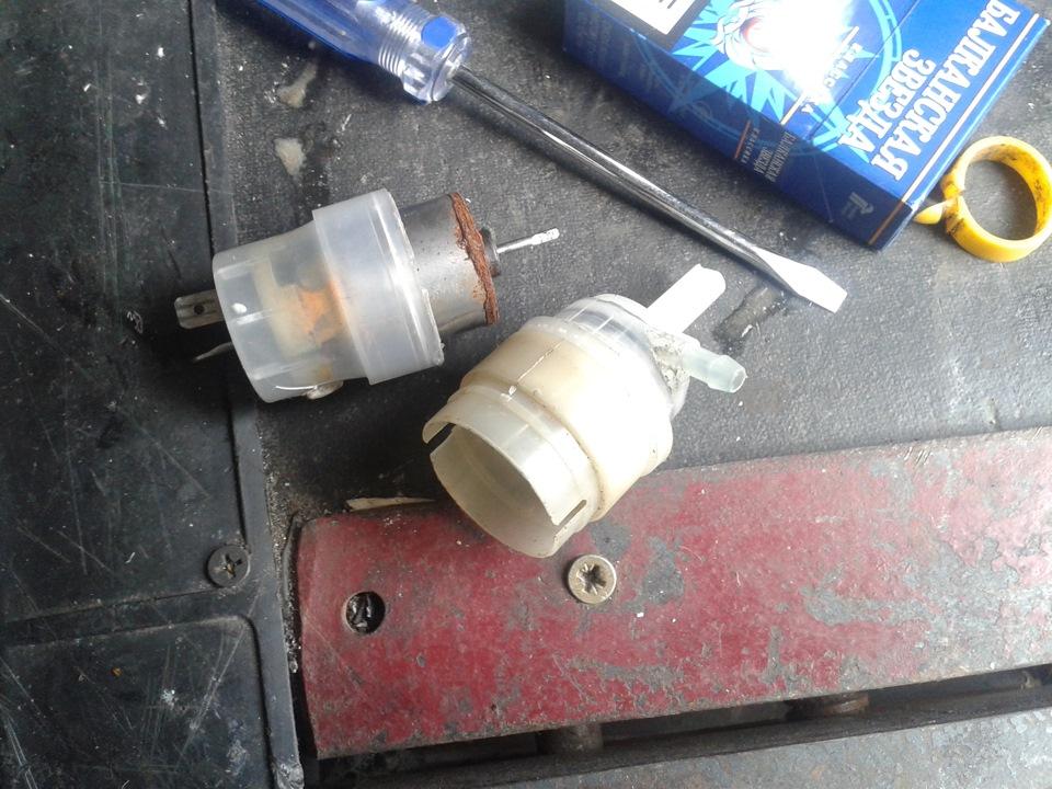 Фото №21 - омыватель лобового стекла ВАЗ 2110