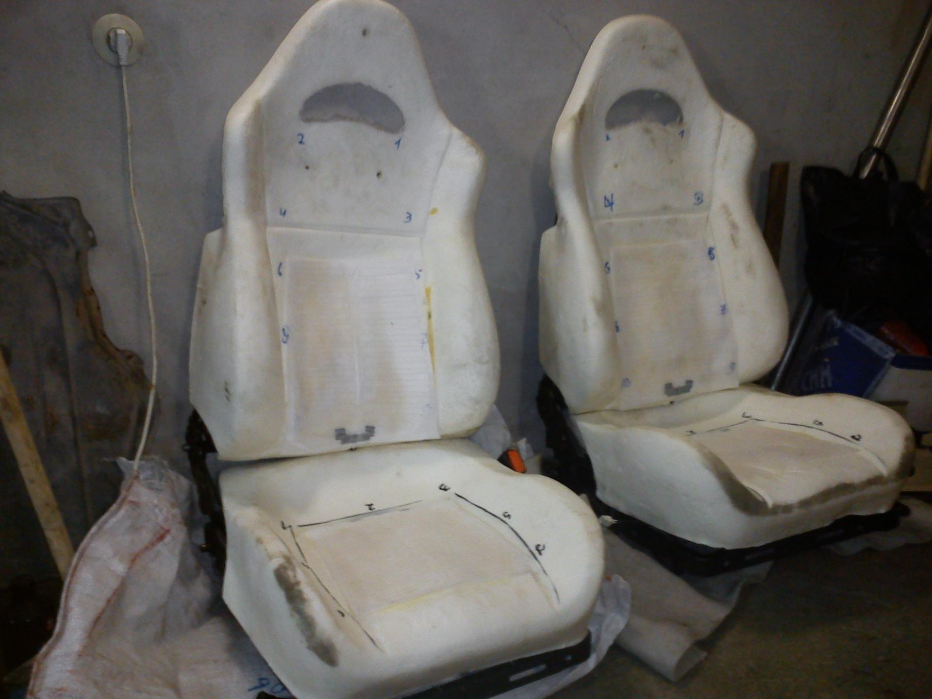 Изготовление сидения в авто