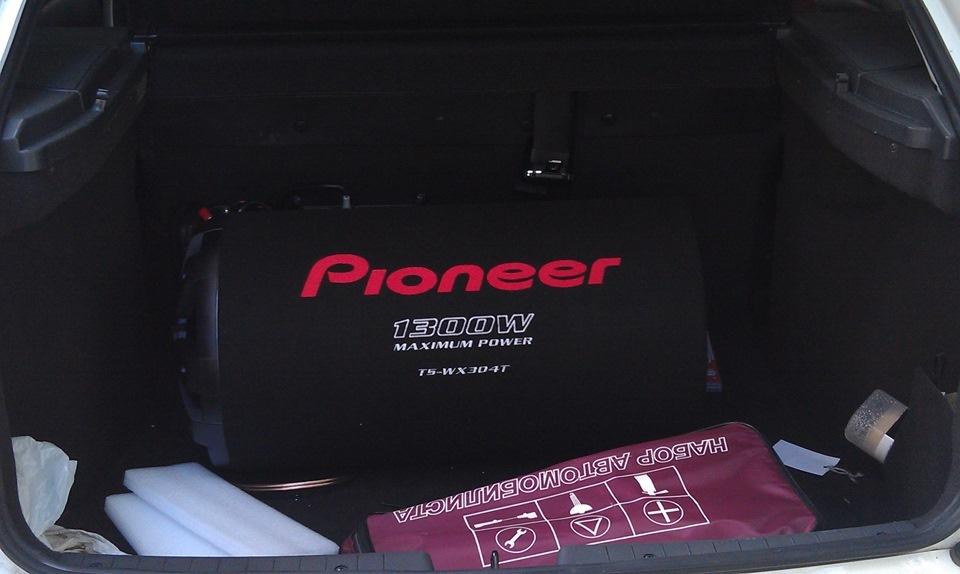 Инструкция к сабвуферу pioneer ts w309d4