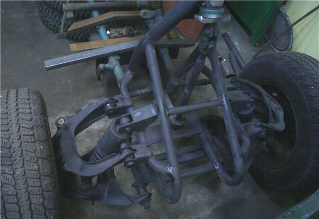 Самодельная передняя подвеска на квадроцикл