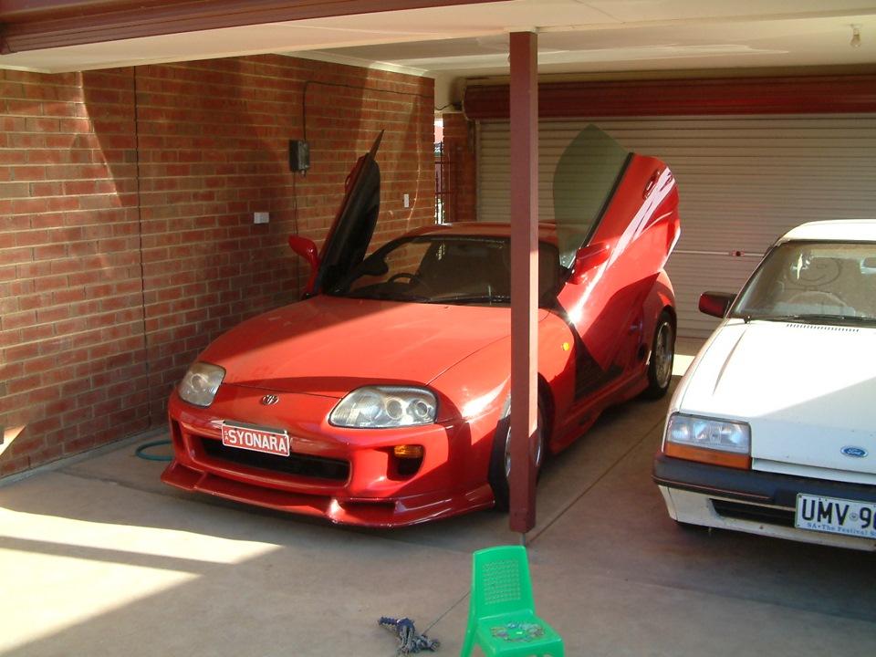 & Lambo Doors u2014 logbook Toyota Supra SYONARA 1994 on DRIVE2