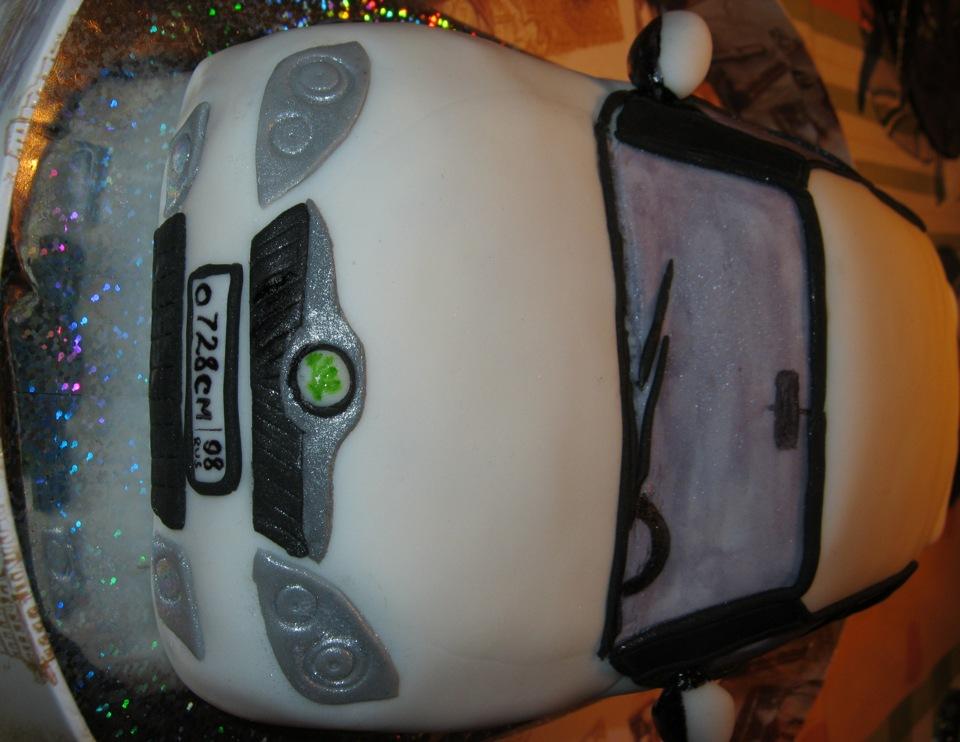 Картонный торт с сюрпризом фото 9
