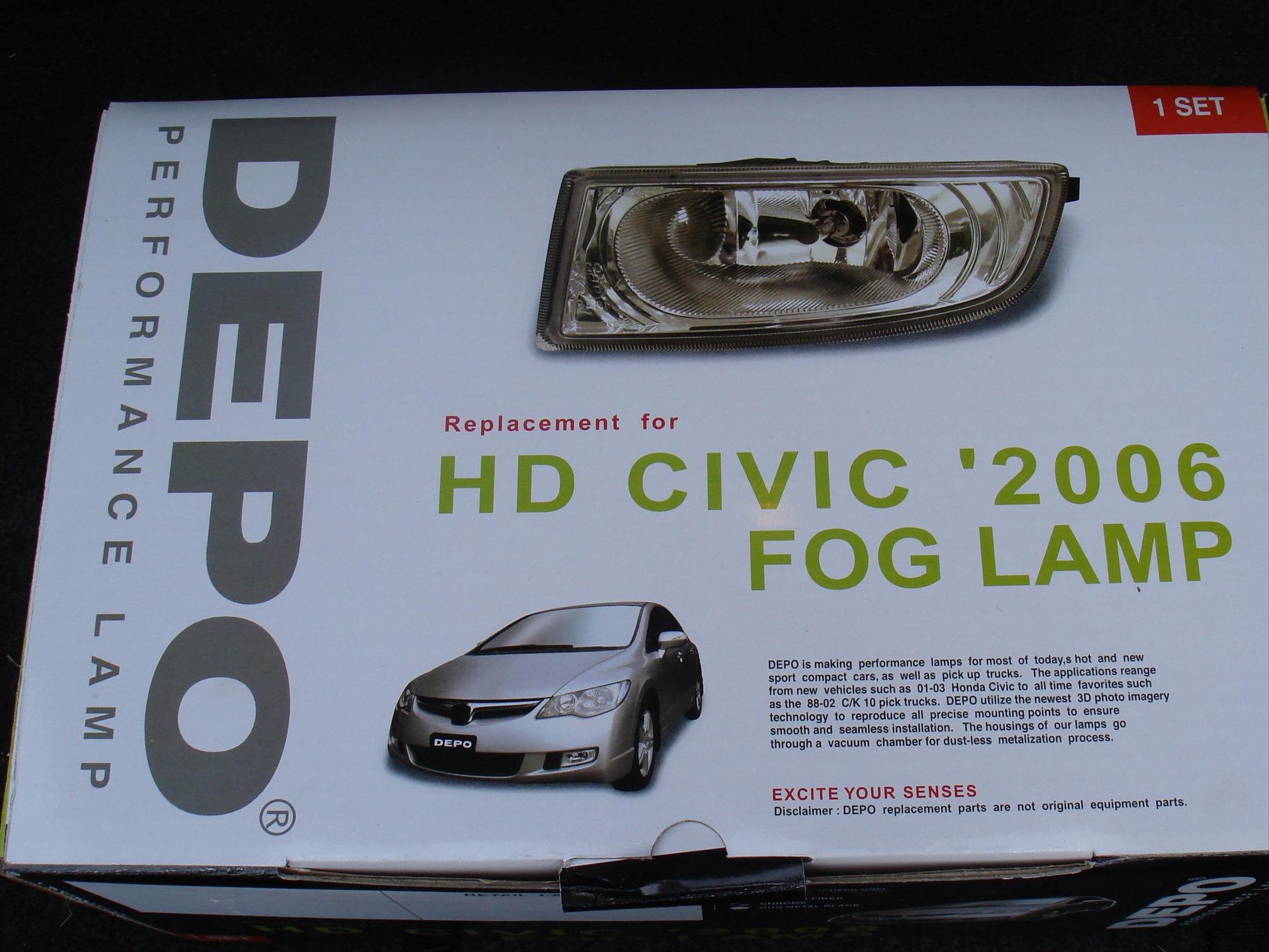 Honda civic 4d 2008 установка доп оборудования