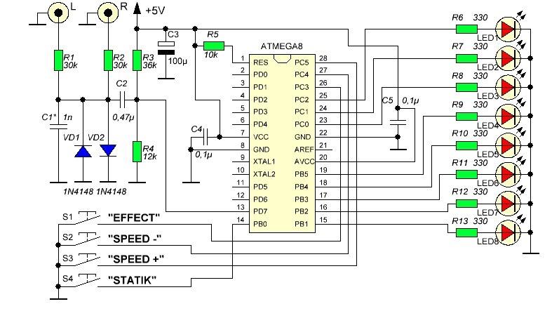 Своими руками на микроконтроллере atmega8