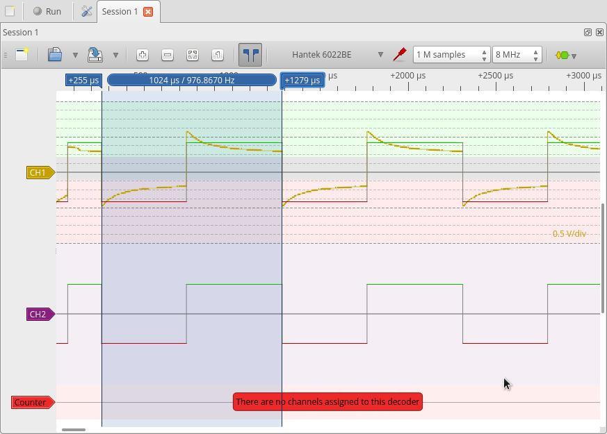 Software alternative 6022be hantek OpenHantek