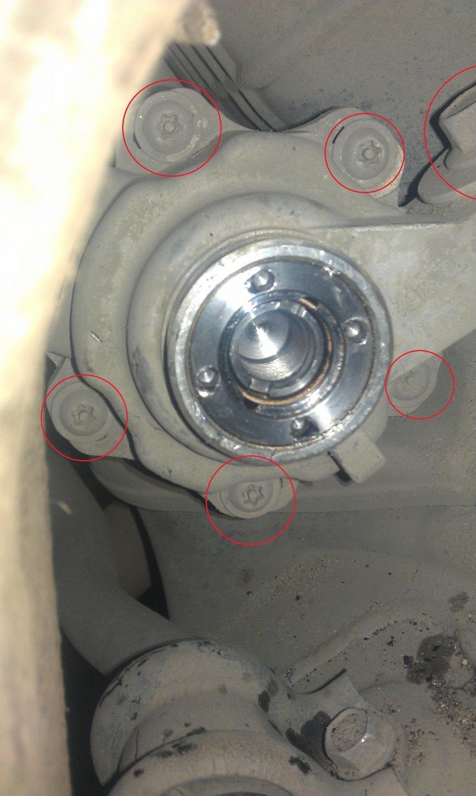Замена втулки рулевой рейки хонда аккорд 8