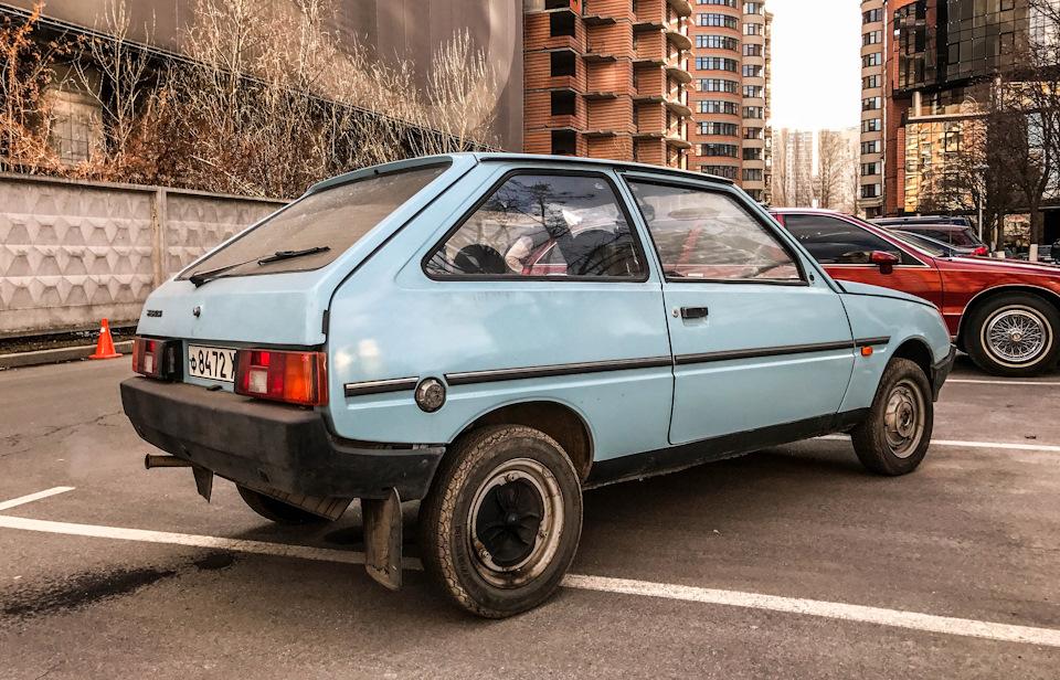 В 1991 году было выпущено 41 832 автомашин ЗАЗ-1102 и их модификаций
