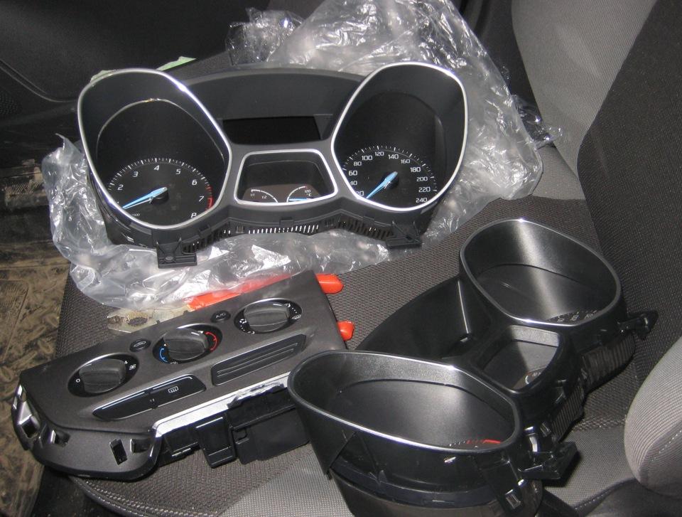 снятие и установка передней консоли ford s-max