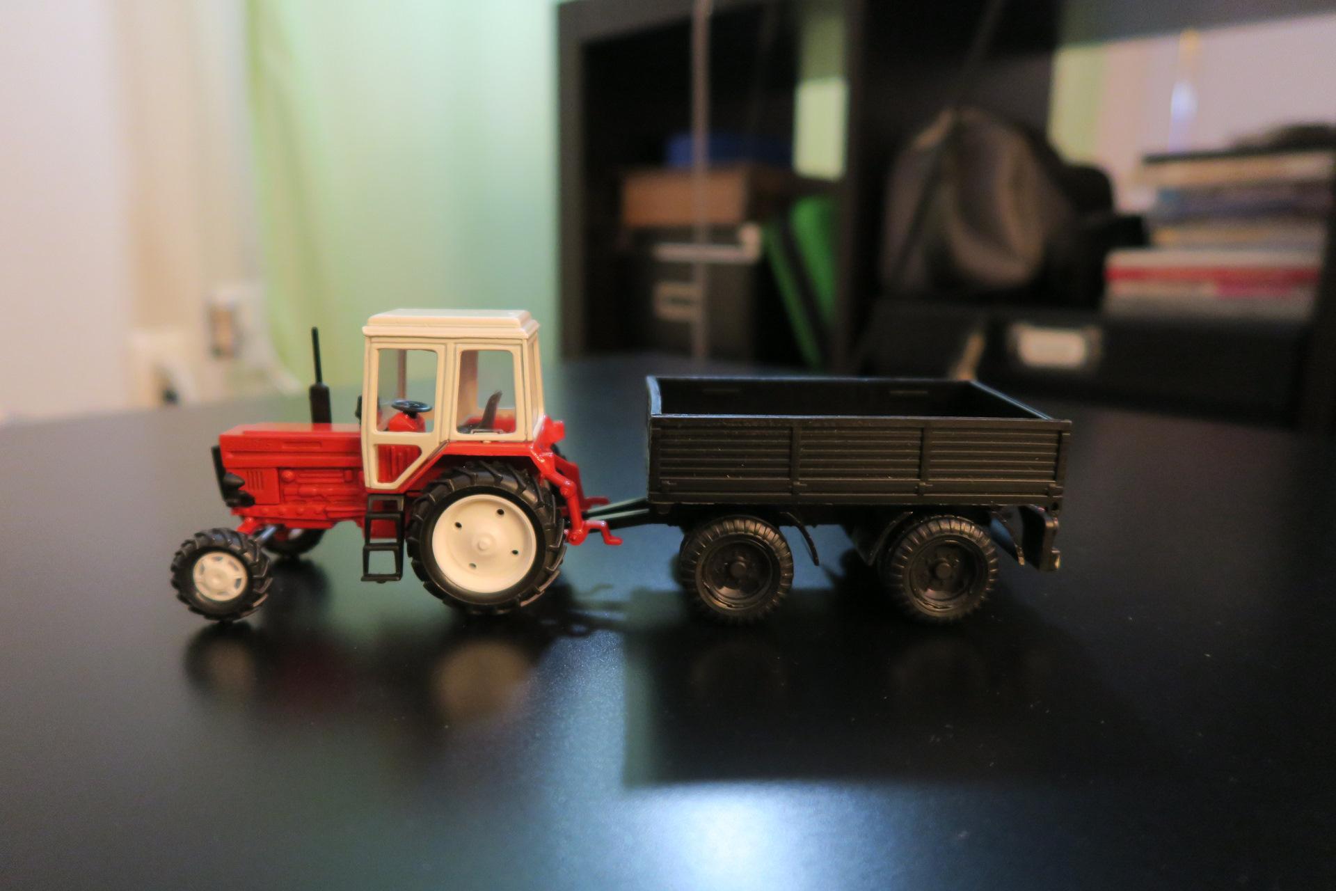 это трактор с прицепом игрушка ссср фото эксплуатации компрессорной станции