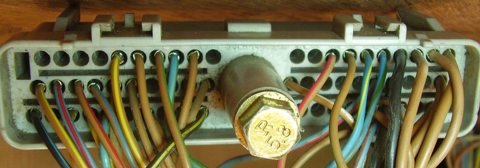 схема электропроводки автомобиля форд скорпио