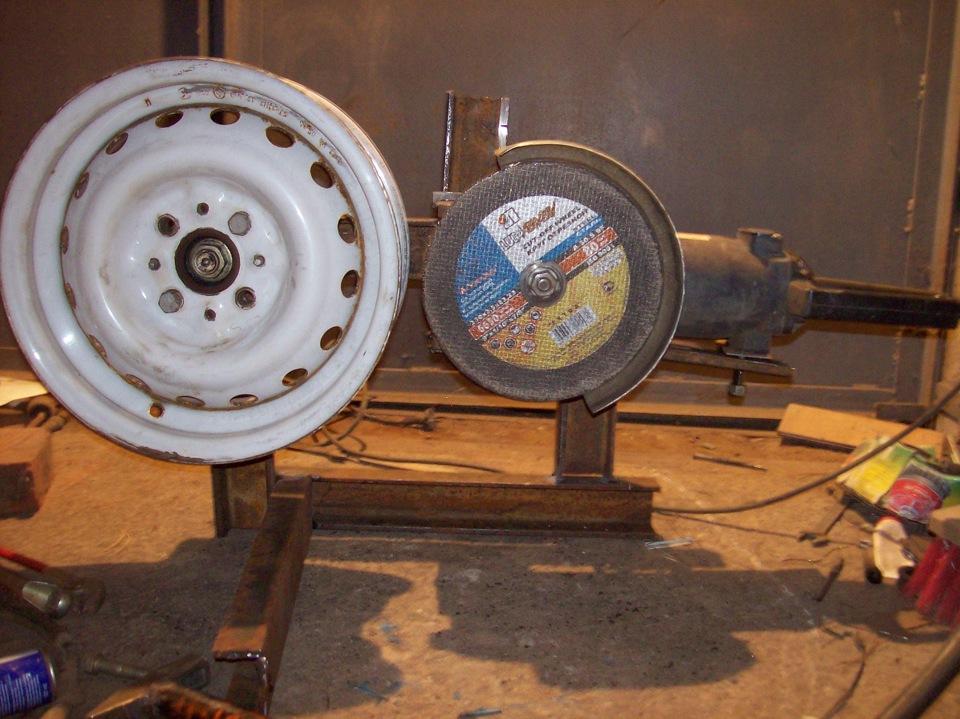 Токарный станок по металлу из подручных средств