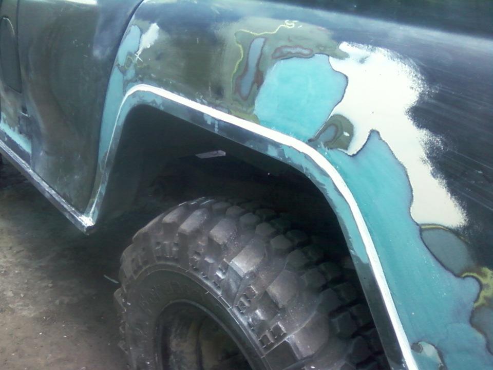 Кузовной ремонт уаз 469 30