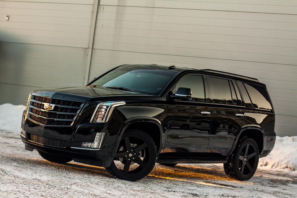 Escalade Black Edition бортжурнал Cadillac Escalade