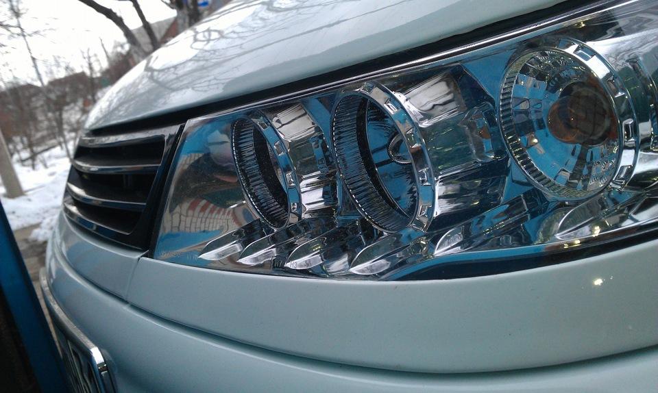 Фото №22 - оптика на ВАЗ 2110 тюнинг