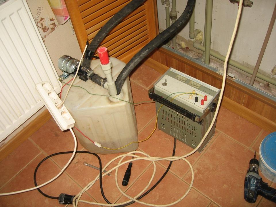 Промыть газовый котел в домашних условиях 999