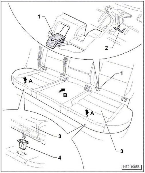 как снять задние сиденье ситроен с элизе