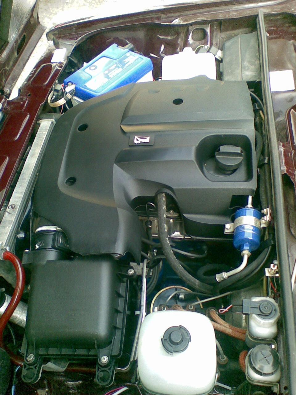 Крышка на двигатель своими руками 864