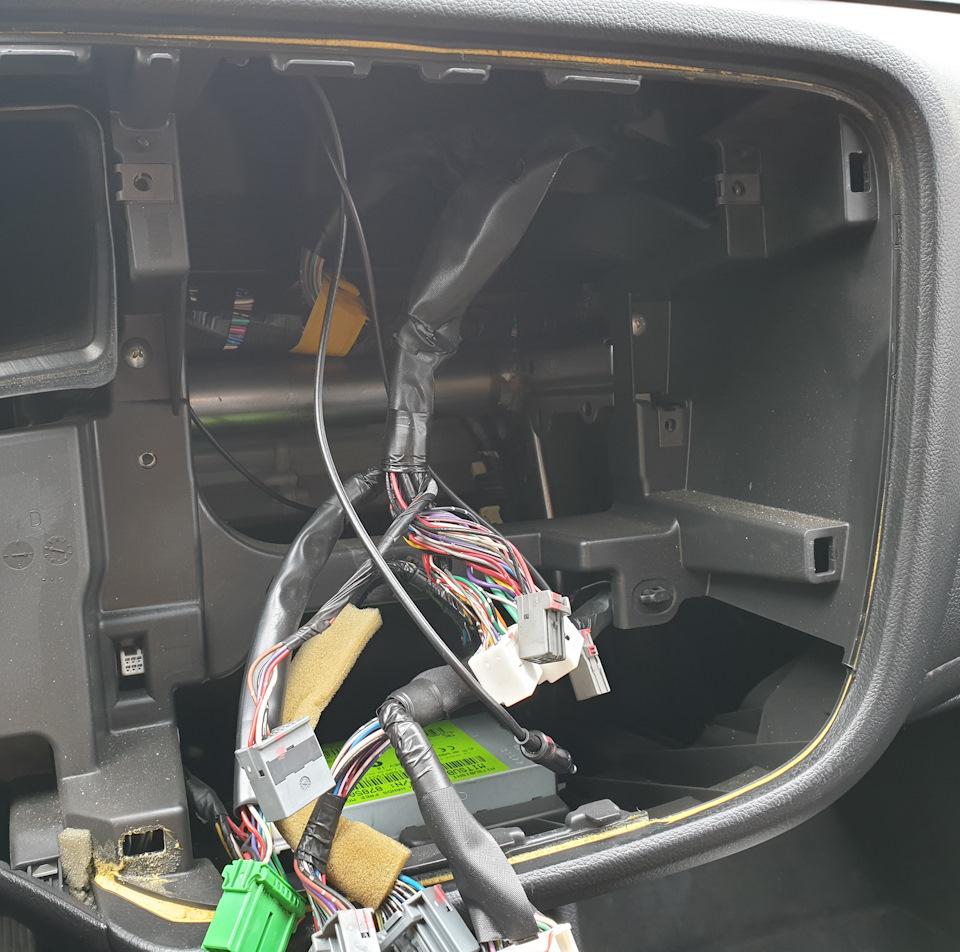 Штатная магнитола аутлендер 3 инструкция