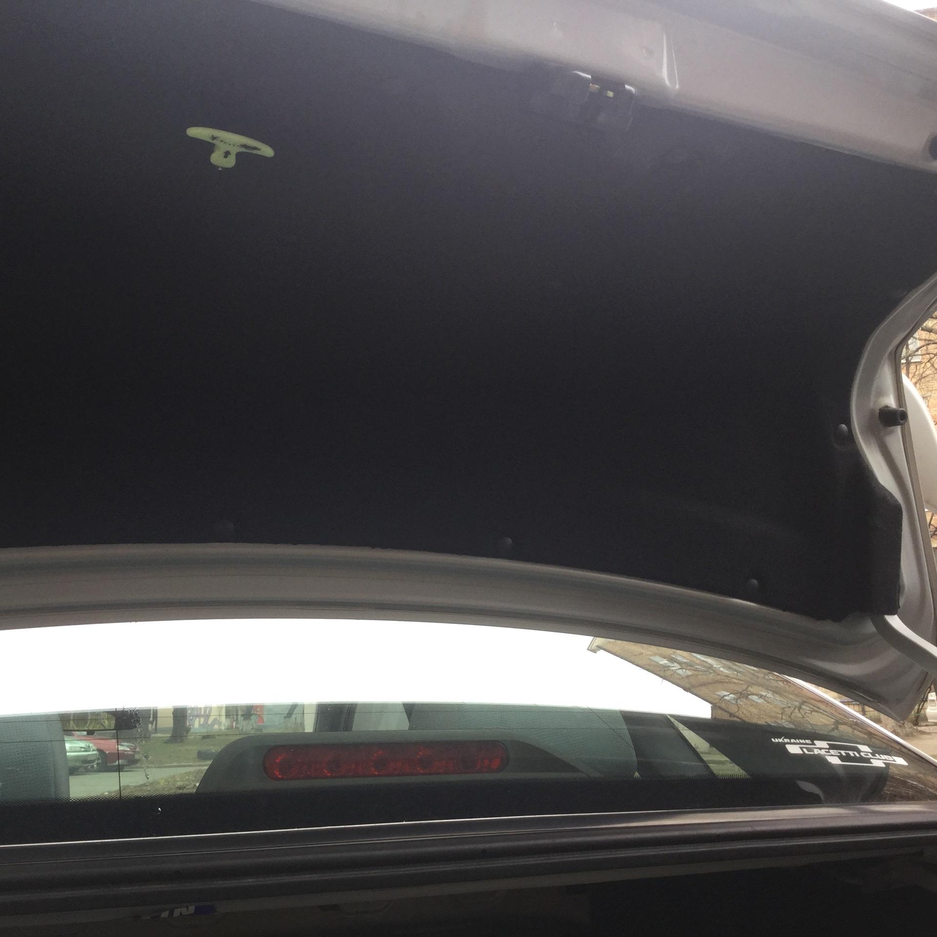 chevrolet cruze ручка аварийного открывания багажника