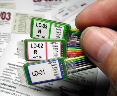 Контроллер салонного света автомобиля LD-03-E.