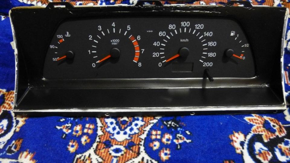 Фото №18 - панель от ВАЗ 2110 на ВАЗ 2107
