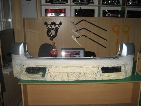 Тюнинг бампера ваз 2110 своими руками с фото 67