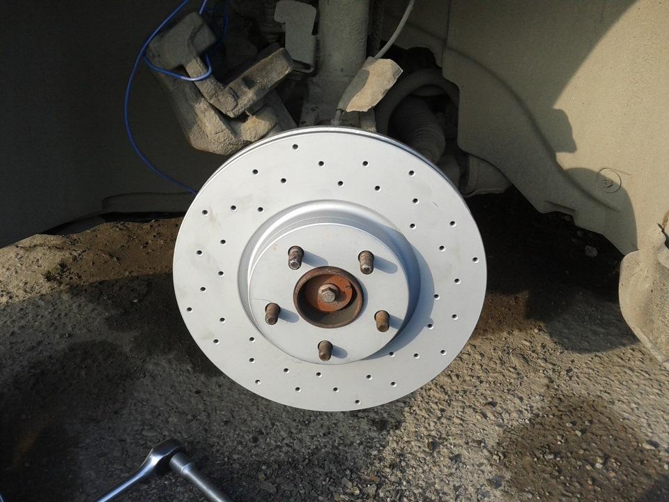 перфорированные тормозные диски ford s-max