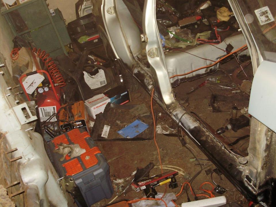 Сгнило днище ваз 2110 ремонт