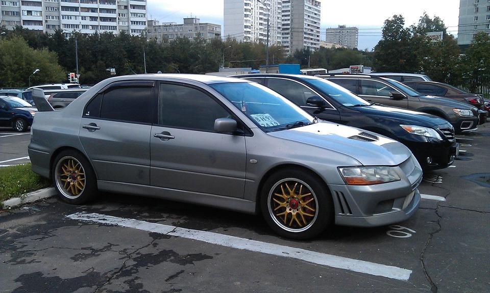 Mitsubishi Lancer Evolution Мышка Бортжурнал Рассказ как у меня колеса украли))))) 36