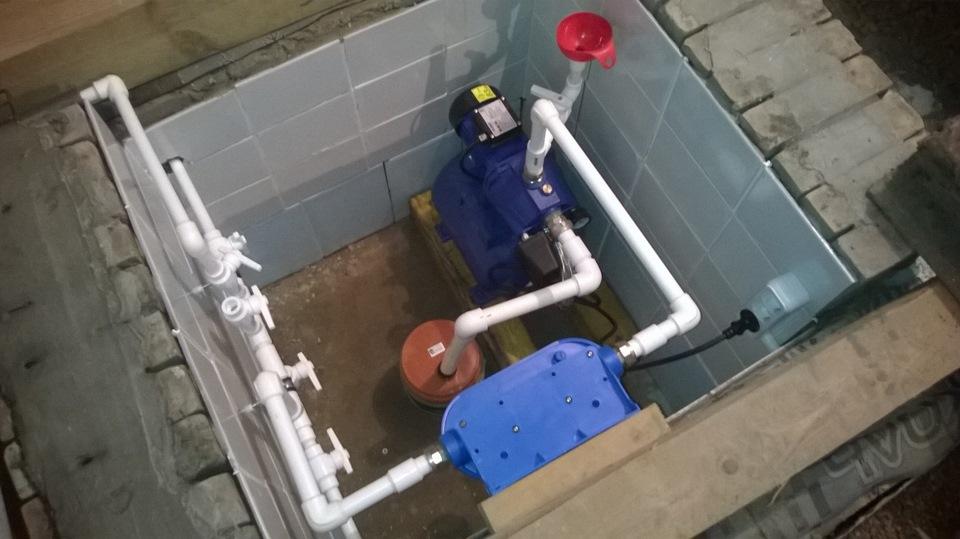 Вода в гараж своими руками 97