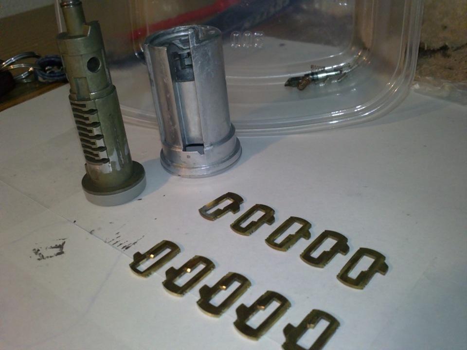 фотоотчет ремонта замка зажигания peugeot expert